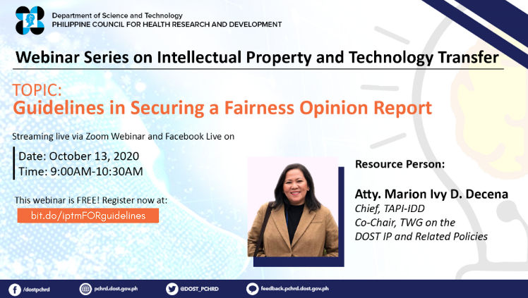 guidelines in securing a fairness opinion report webinar