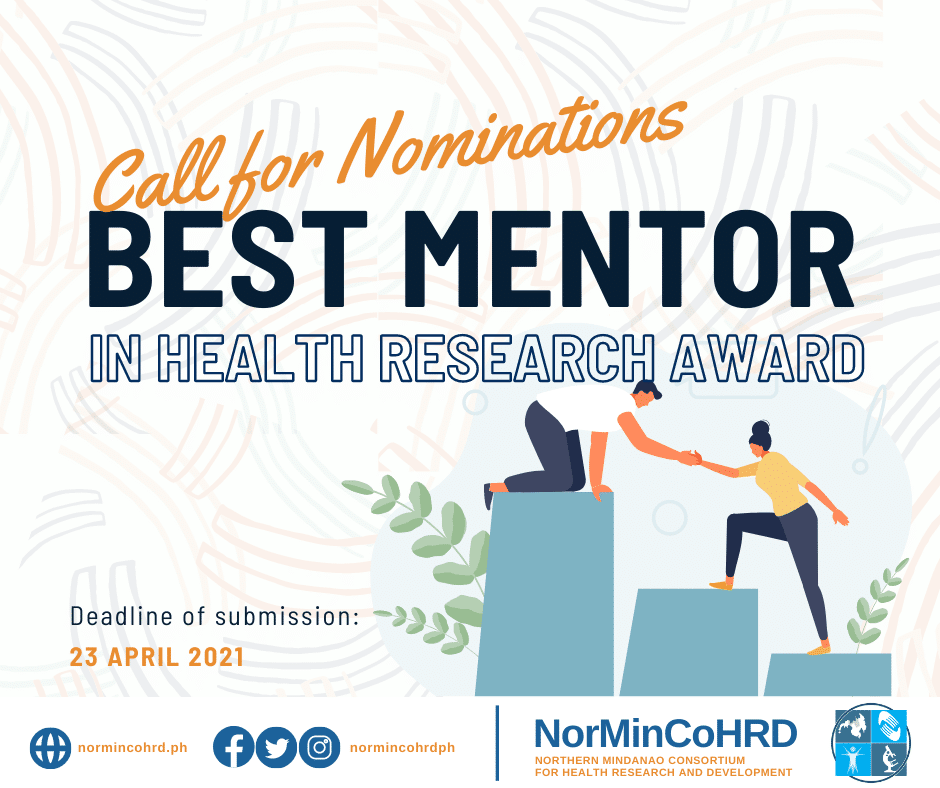 best mentor in health research award fb